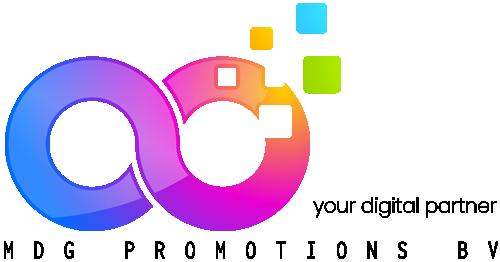MDG promotions bv - Logo - webdesign - webhosting provincie antwerpen